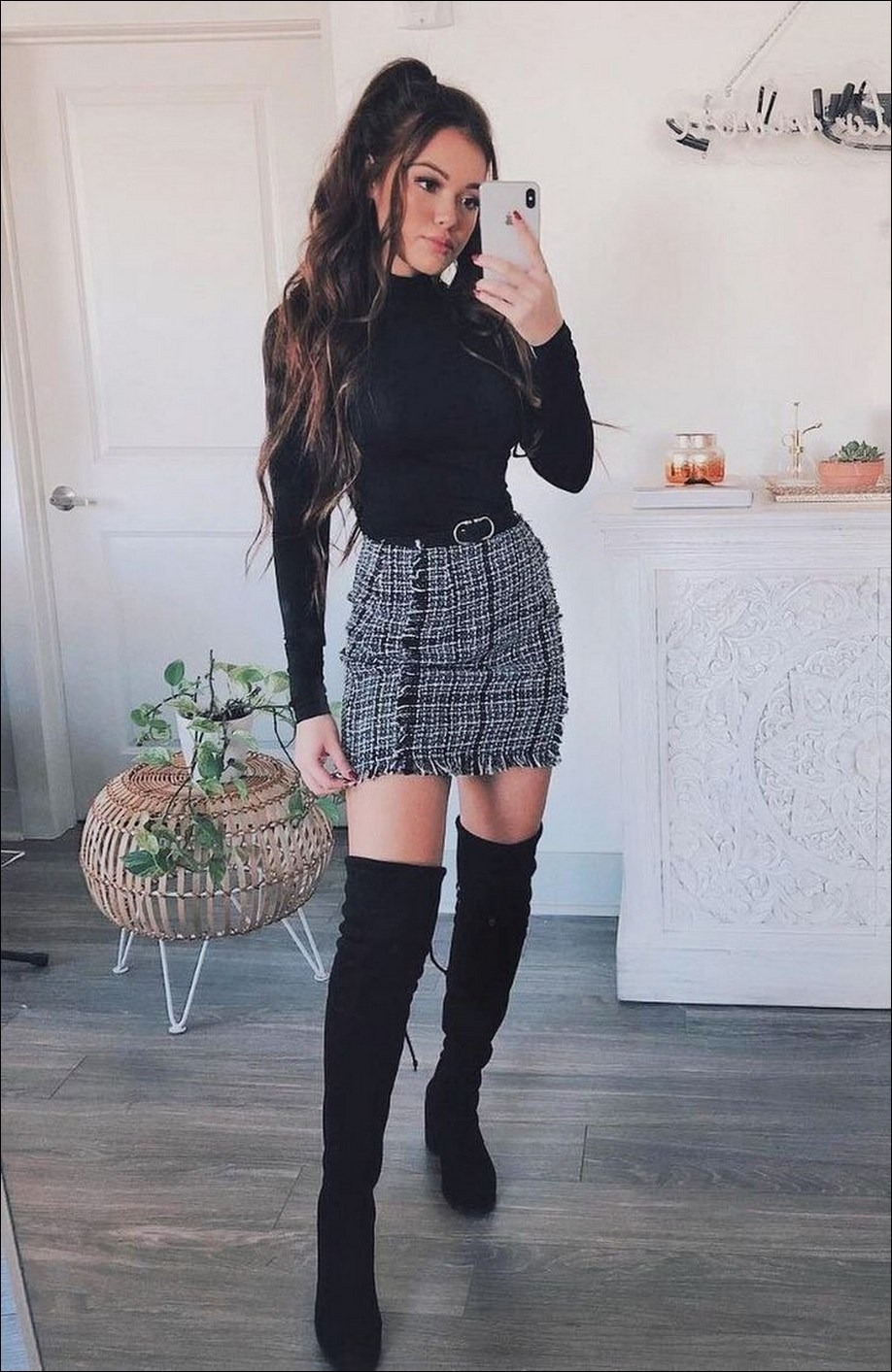 42+ trendy winter outfits to help to level up your winter style 40