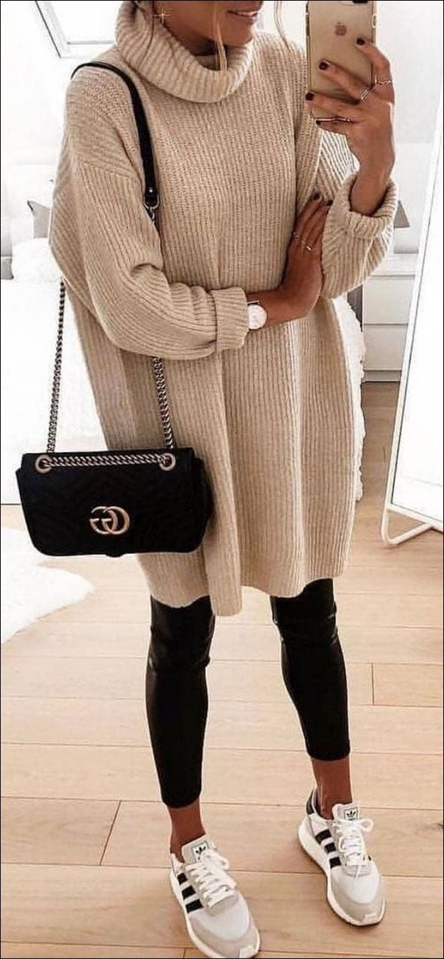 55+ magnificient winter outfits ideas to wear right now 58
