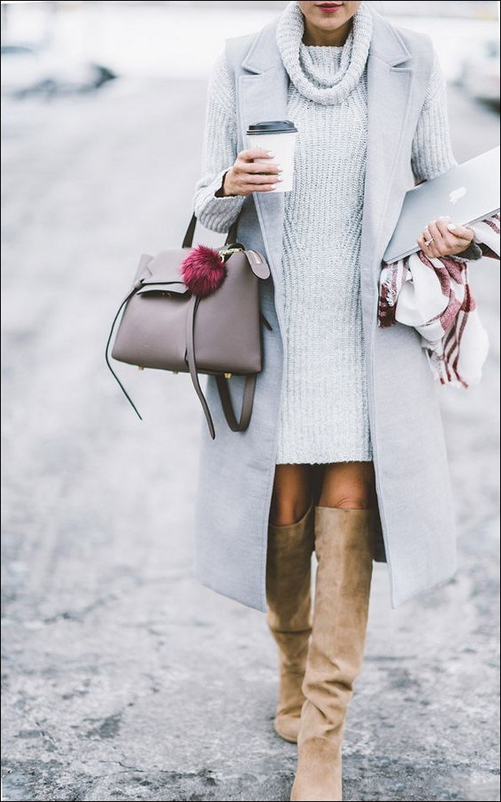 50+ the best fashionable trends in winter this year 32