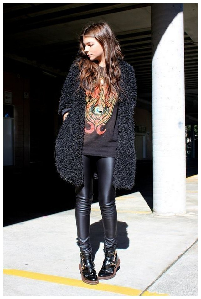 34+ rocker chic winter outfits you will love fashionplace info 17