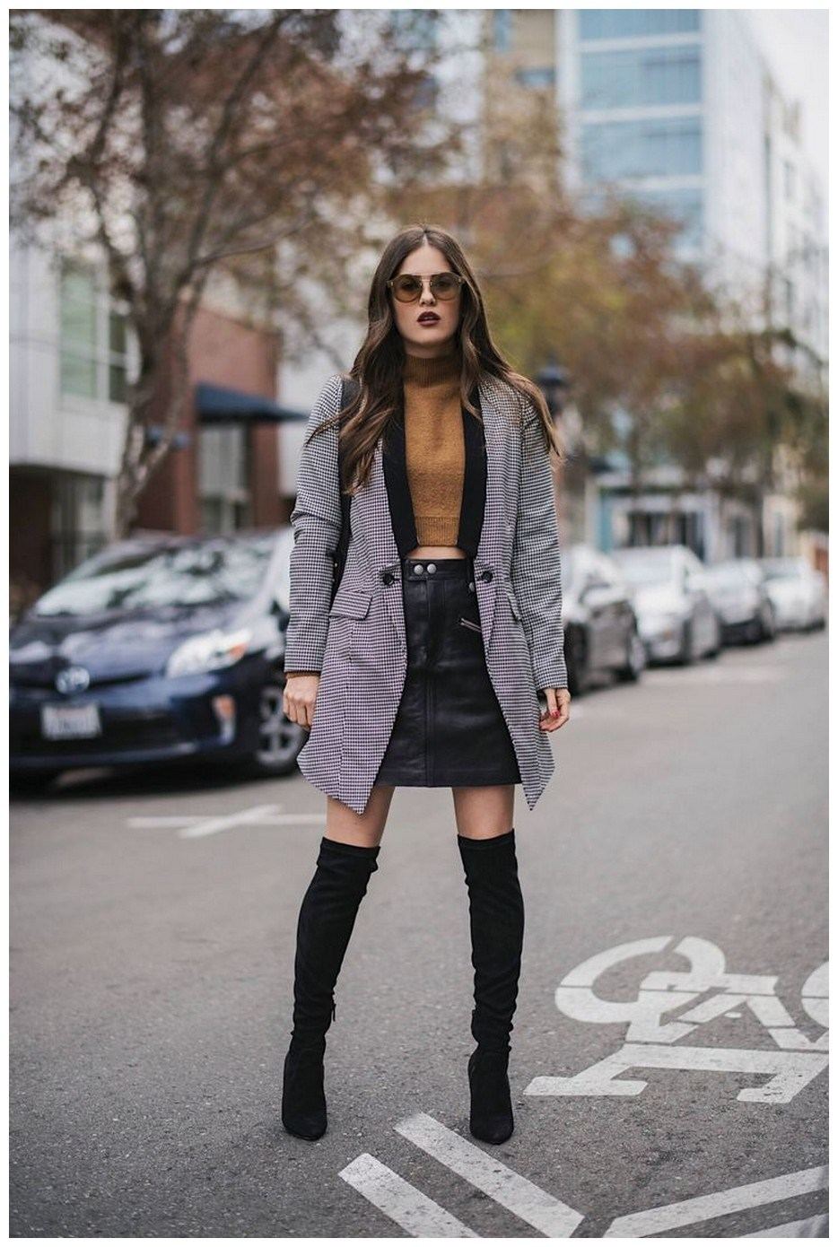 40+ ways to wear thigh high boots this winter 9