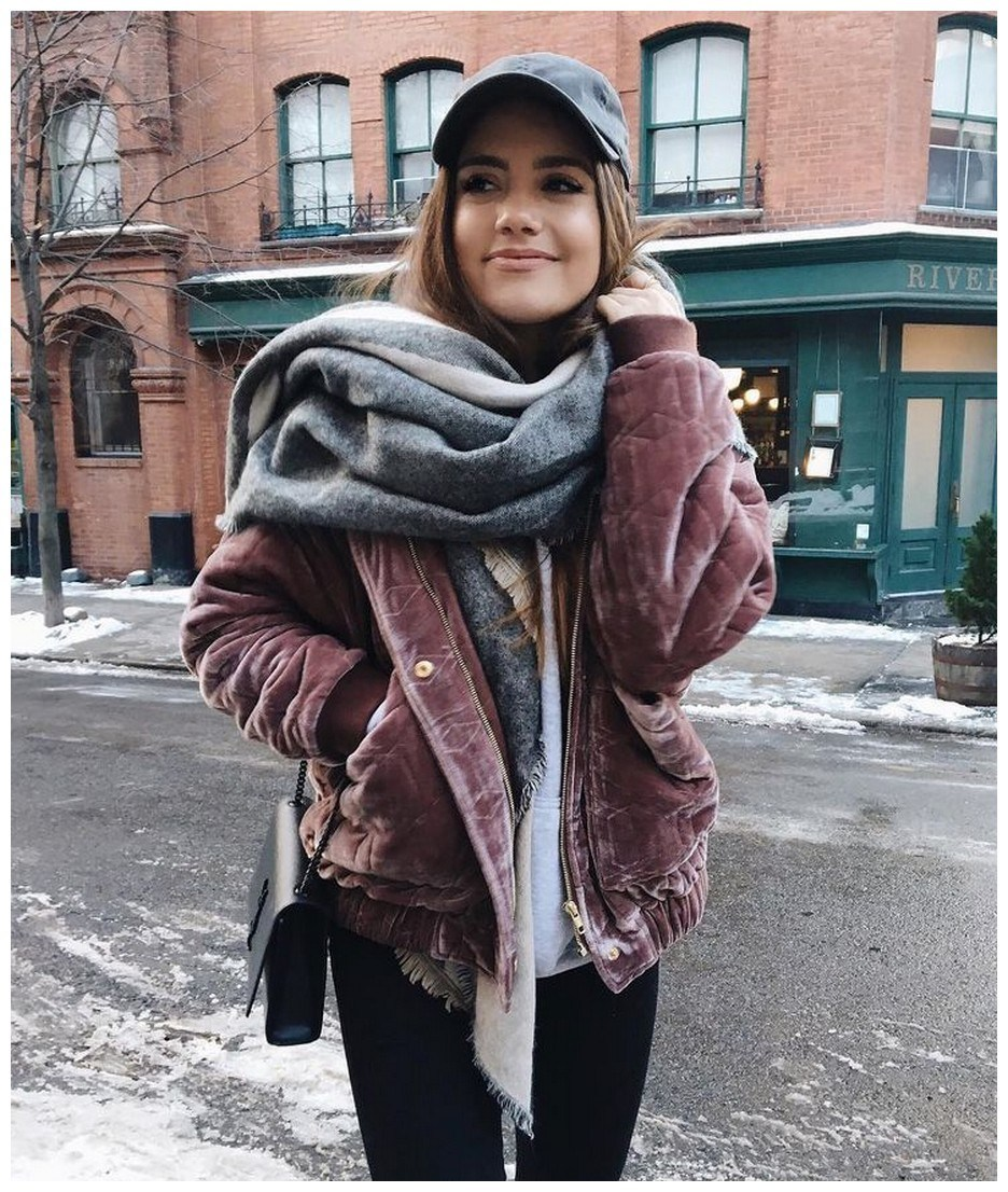 50+ pretty winter outfits you can wear on repeat 11