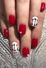 25 Cute Nail Art Colors for Valentine's Day