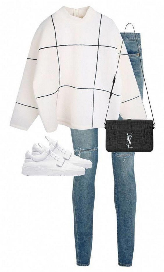 31+ cute casual winter fashion outfits for teen girl 16