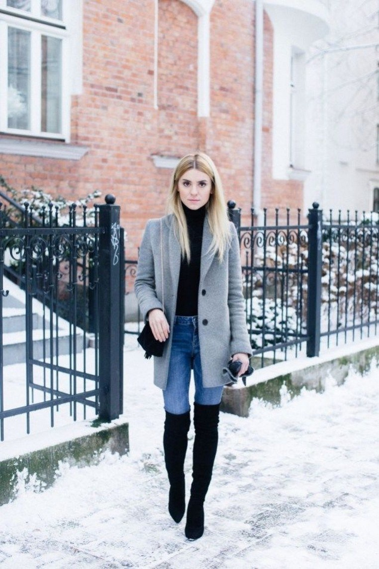 41+ combination for boots and coats this winter 45