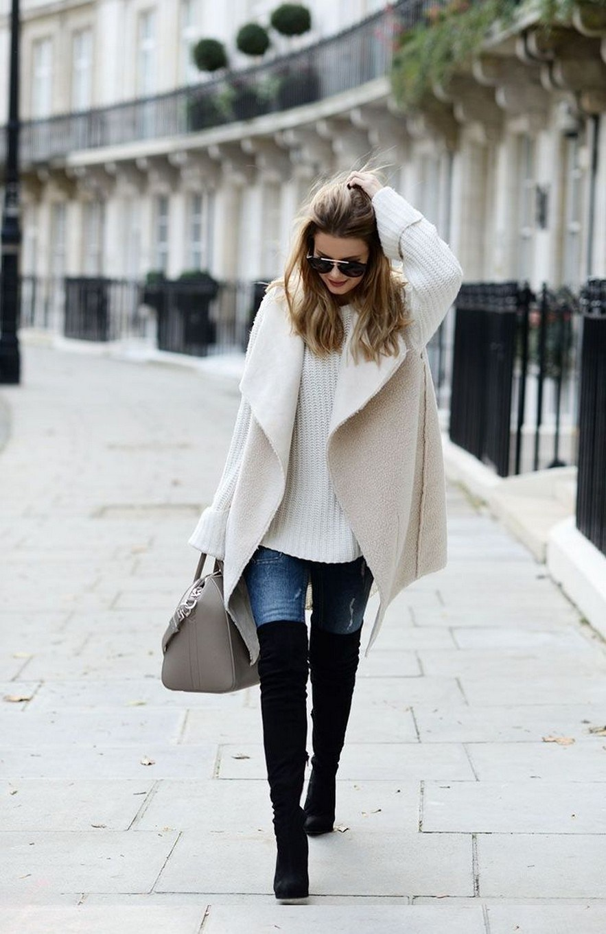 41+ combination for boots and coats this winter 8