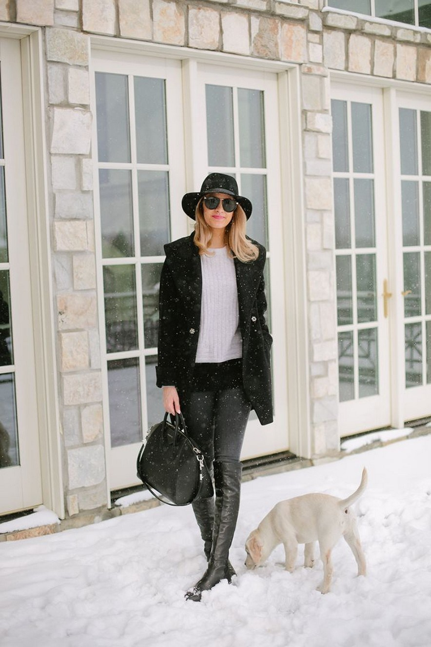 41+ combination for boots and coats this winter 36