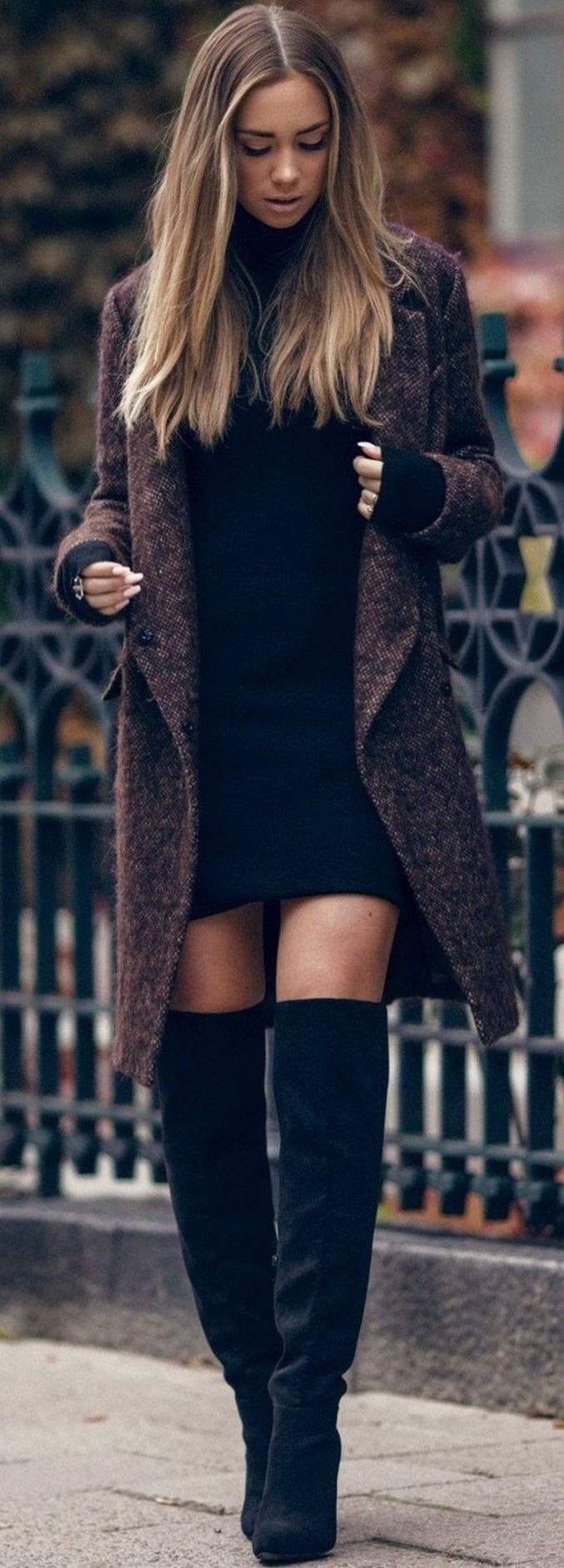 41+ combination for boots and coats this winter 3