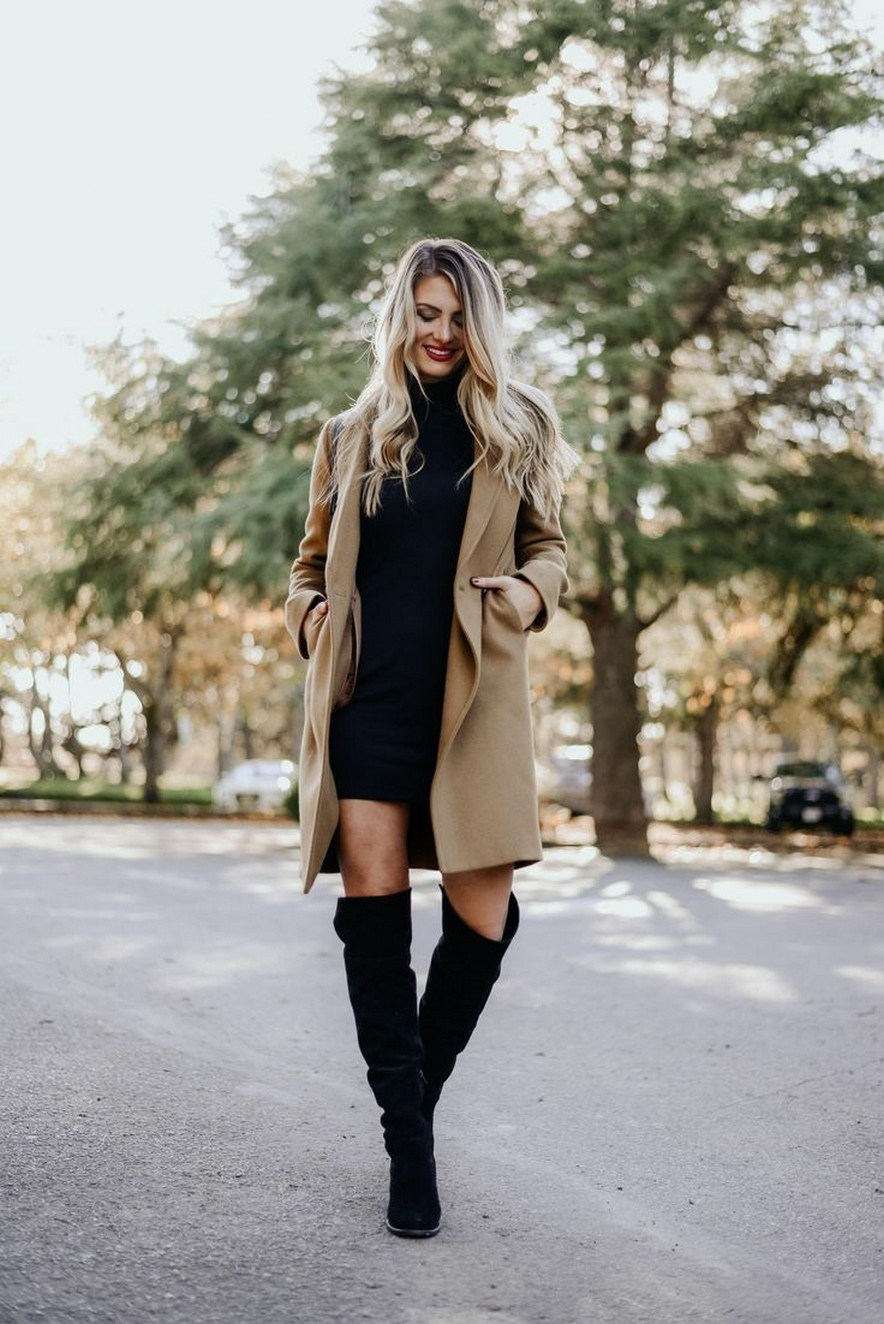 41+ combination for boots and coats this winter 34