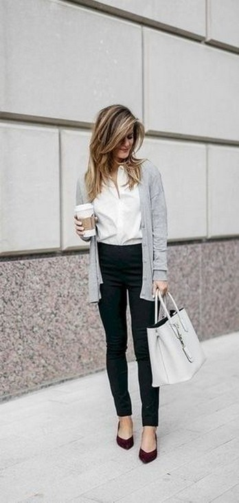 60+ the best work winter outfits ideas that make you more cool in this year 50
