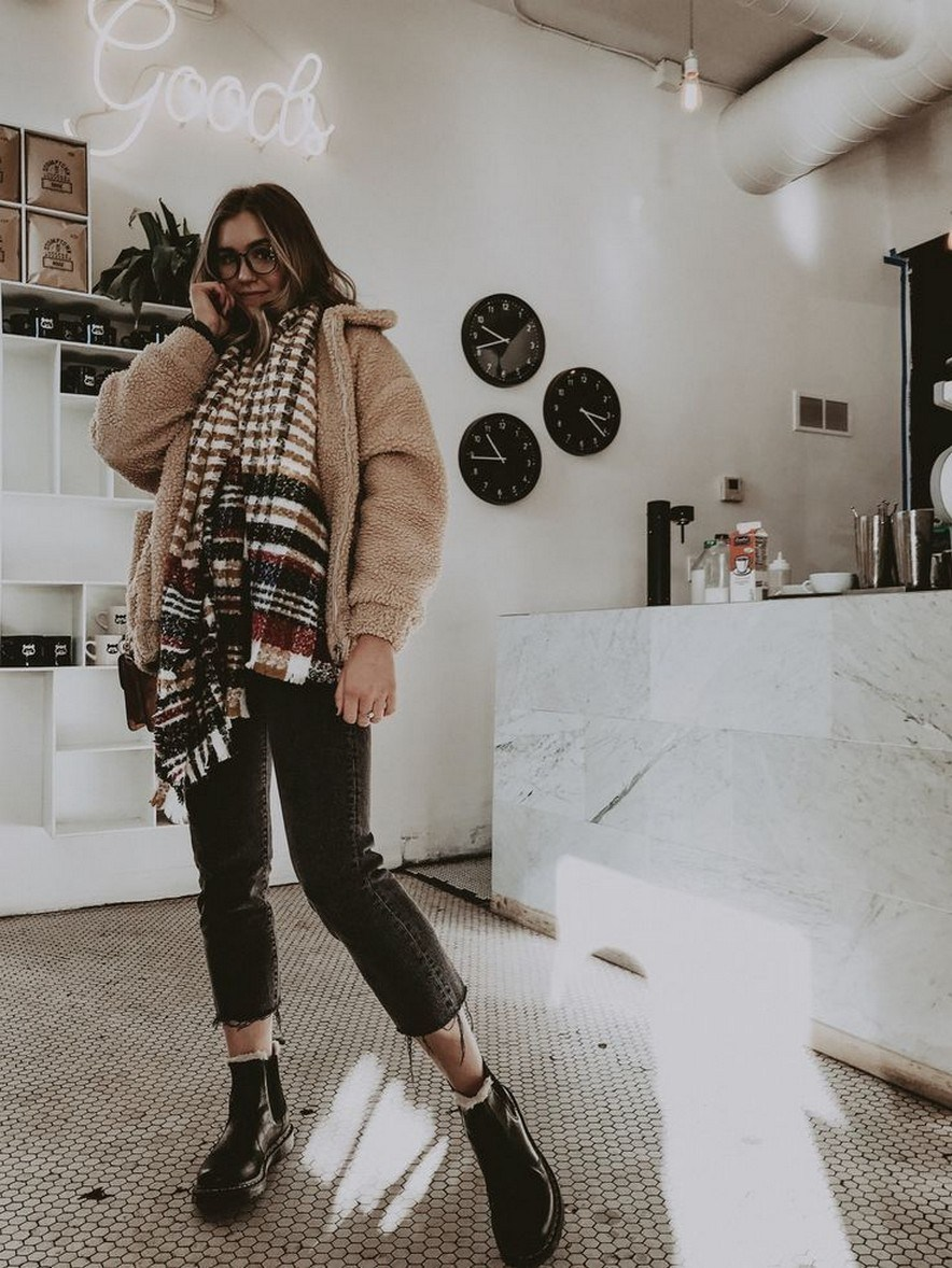 31+ trendy winter outfit ideas that women have to know 23