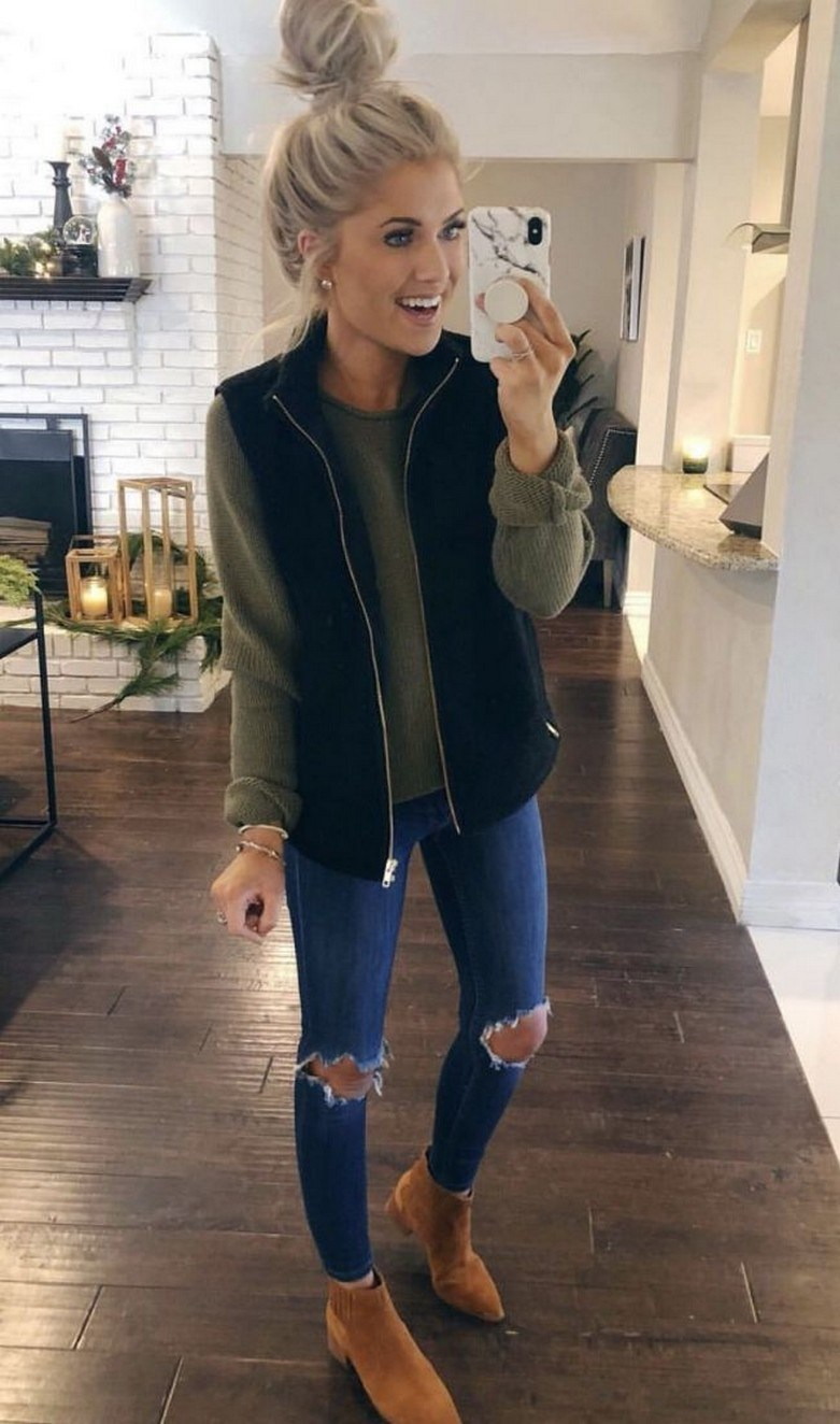 31+ trendy winter outfit ideas that women have to know 20
