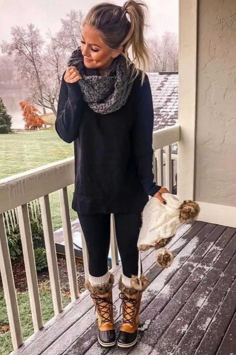 31+ trendy winter outfit ideas that women have to know 30
