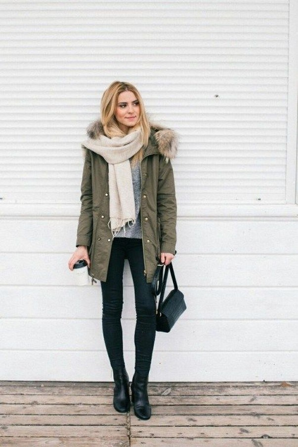 41+ combination for boots and coats this winter 33