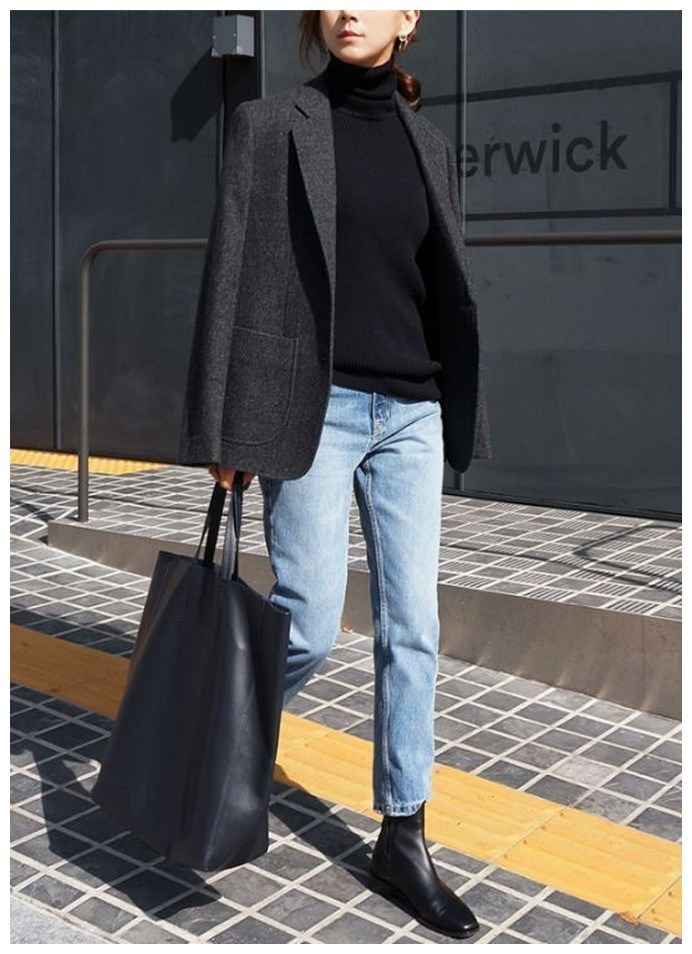 60+ minimalistic outfits for spring 56