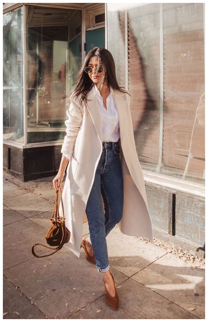 60+ minimalistic outfits for spring 54