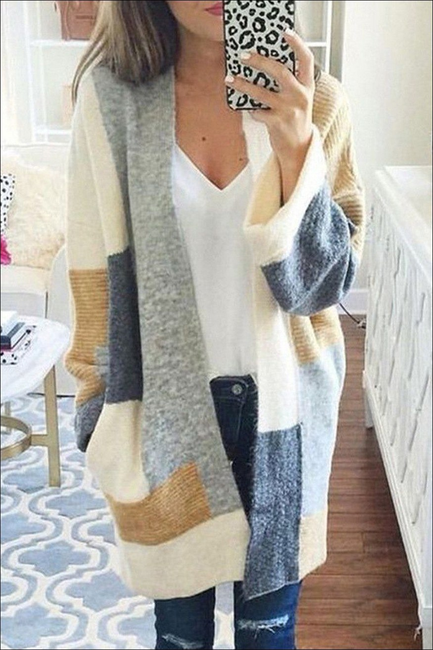 35+ stylish comfy casual spring outfits for women 23