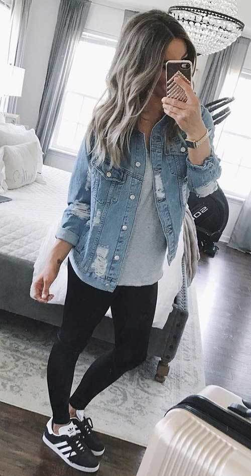Denim Jacket Spring Fashion Ideas