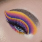 40 Pretty Rainbow Makeup Ideas