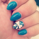 25 Cute Nail Art Design Ideas with bow