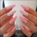 42 Fashionable Pink And White Nails Designs Ideas You Wish To Try