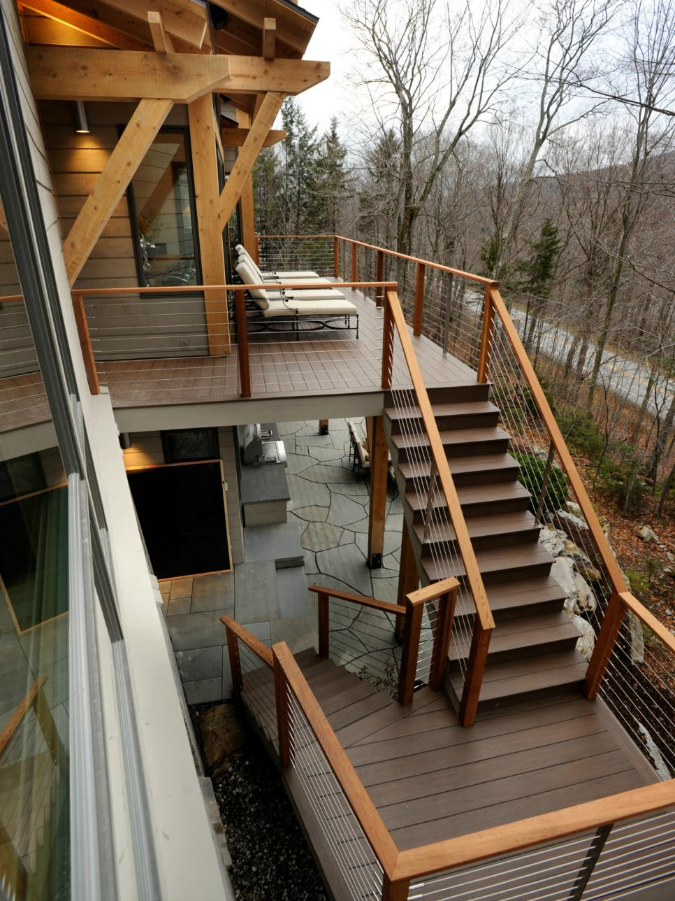 Home Exterior Design 5 Ideas & 31 Pictures on Backyard Stairs Design id=34263