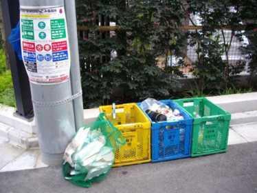 Раздельный сбор отходов в Японии