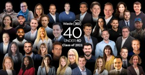 Waste360 Announces 2021 40 Winners Under 40 Awards