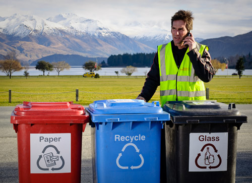Wanaka Wastebusters Accommodation Triple Bin Package