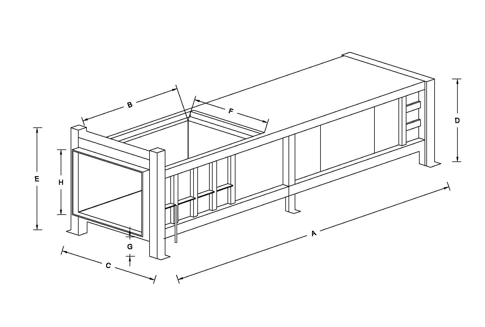 10 Yard Stationary Compactors