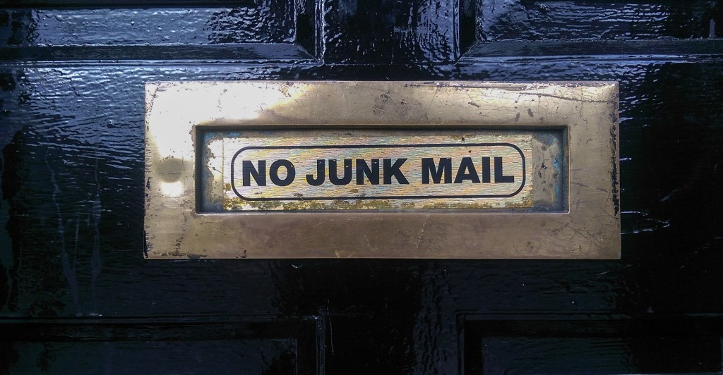 Reduce Junk Mail