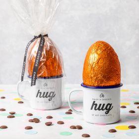 Low Waste Easter egg in a Mug