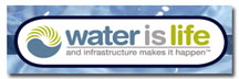 WEF Water Is Life Logo