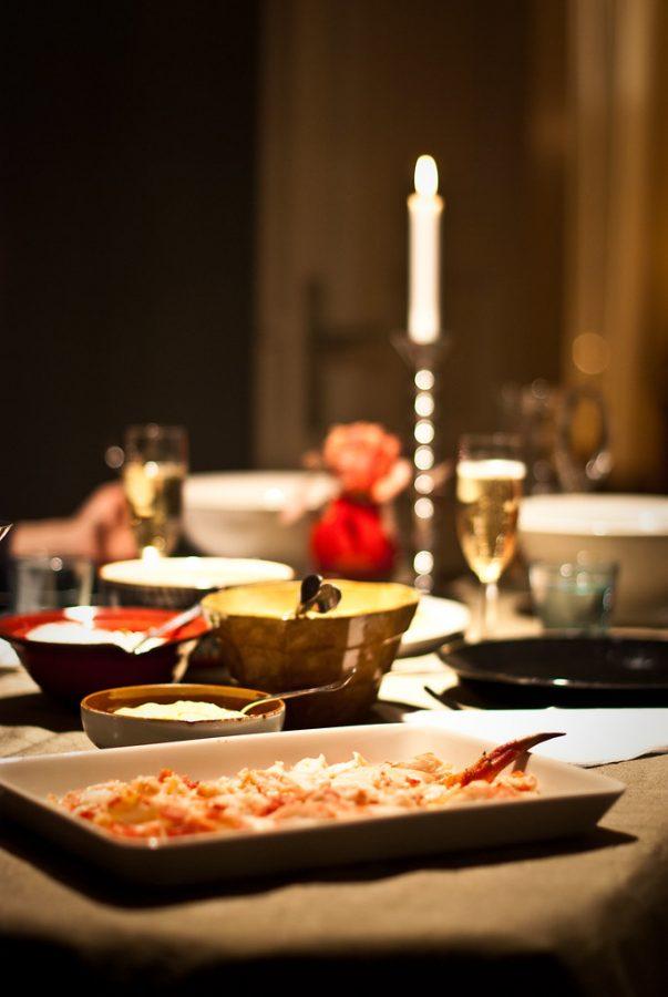 Silvesterparty Quarkbällchen & Champagne