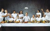 Last supper of the TV-Chefs