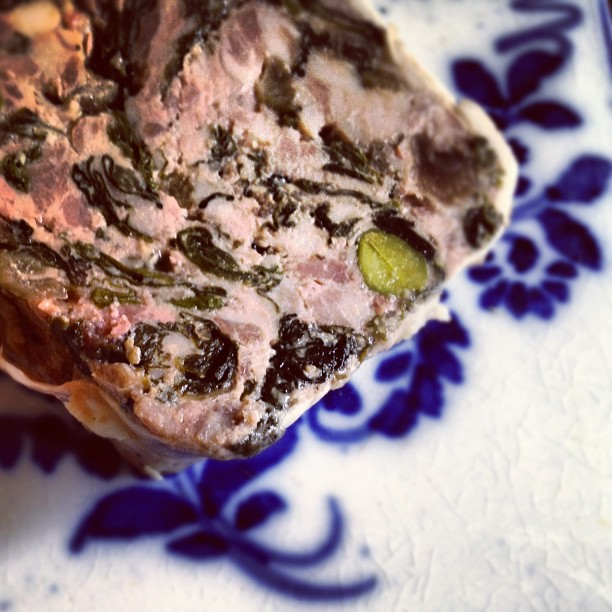 Wat aten zij - paté van De Pasteibakkerij