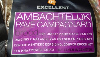 AH excellent Pave Campagnard flauwekul etiket