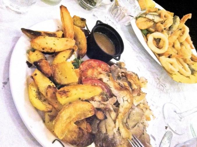 Porchetta bij Restaurant Il Pecorino