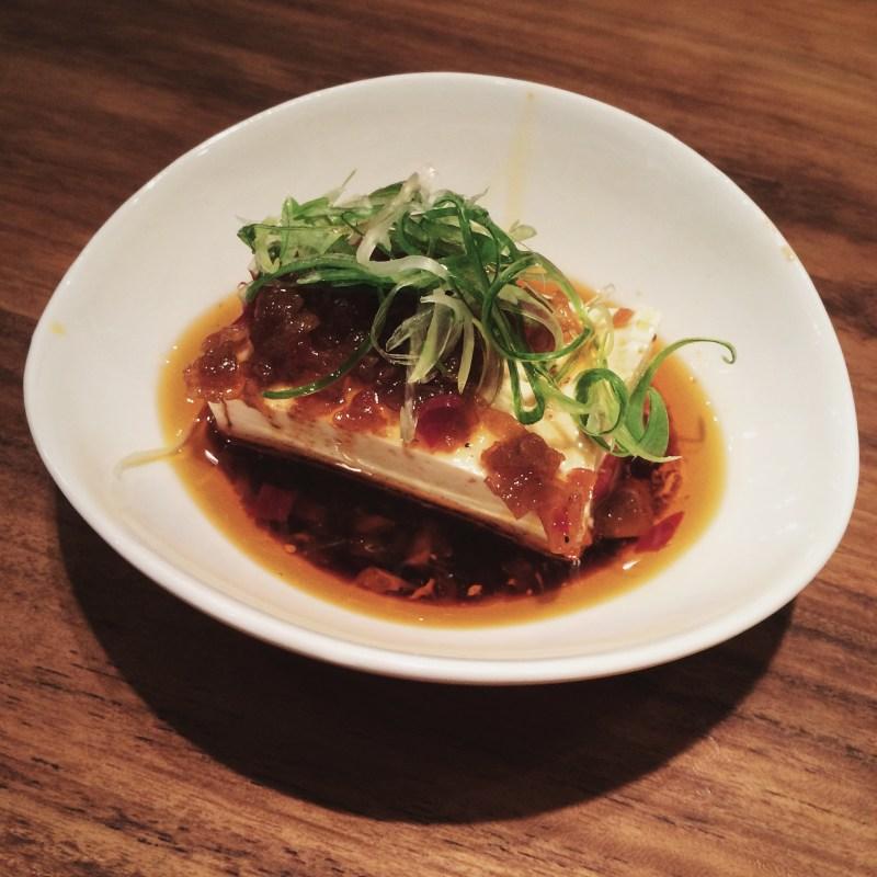 Tofu bij Fou Fow Ramen