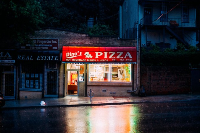 The New York Pizza Project: the block
