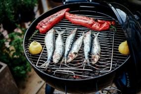 Sardines op de grill