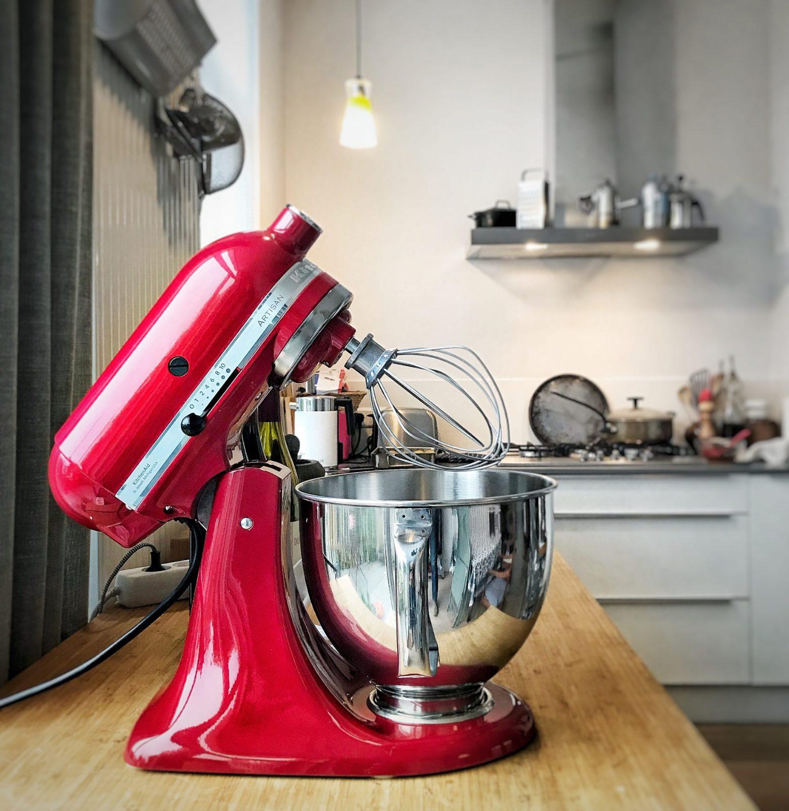Nieuwe keuken met kitchenaid