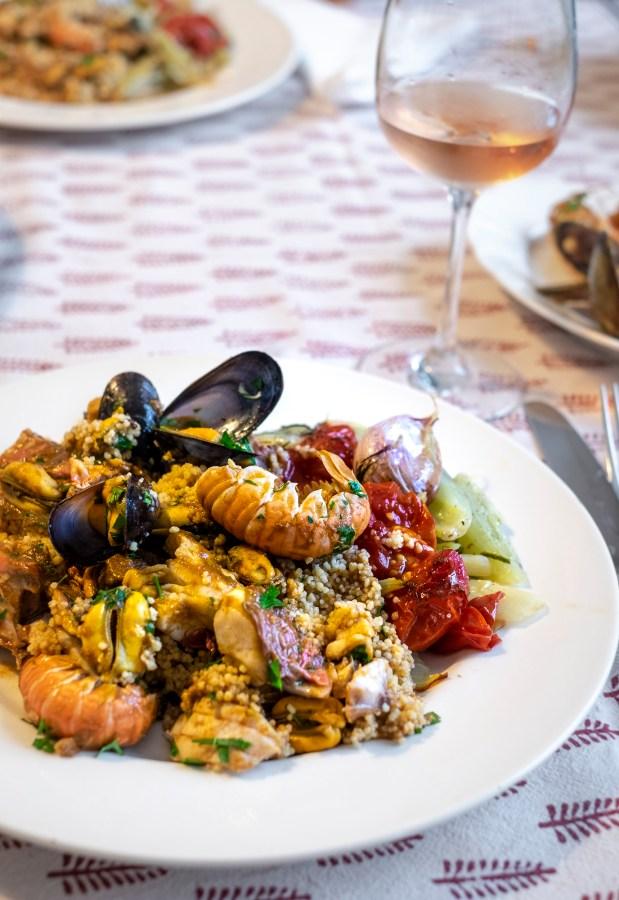 Siciliaanse couscous met vis