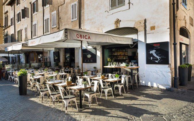 Mozzarella bar Obica