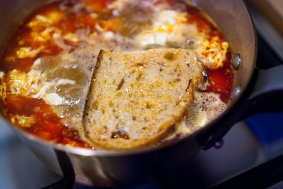 Spaanse knoflooksoep