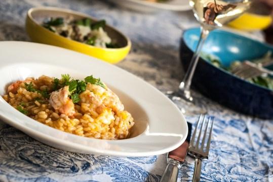 Giorgio Locatelli's Langoustine risotto