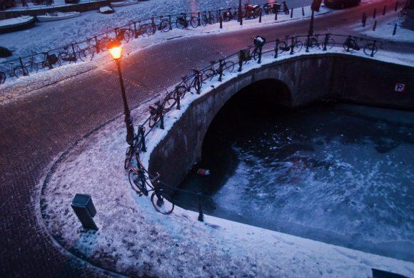 Winter op de Looiersgracht