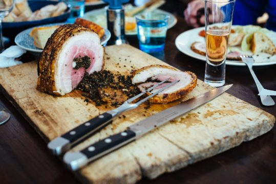 Sunday roast: porchetta