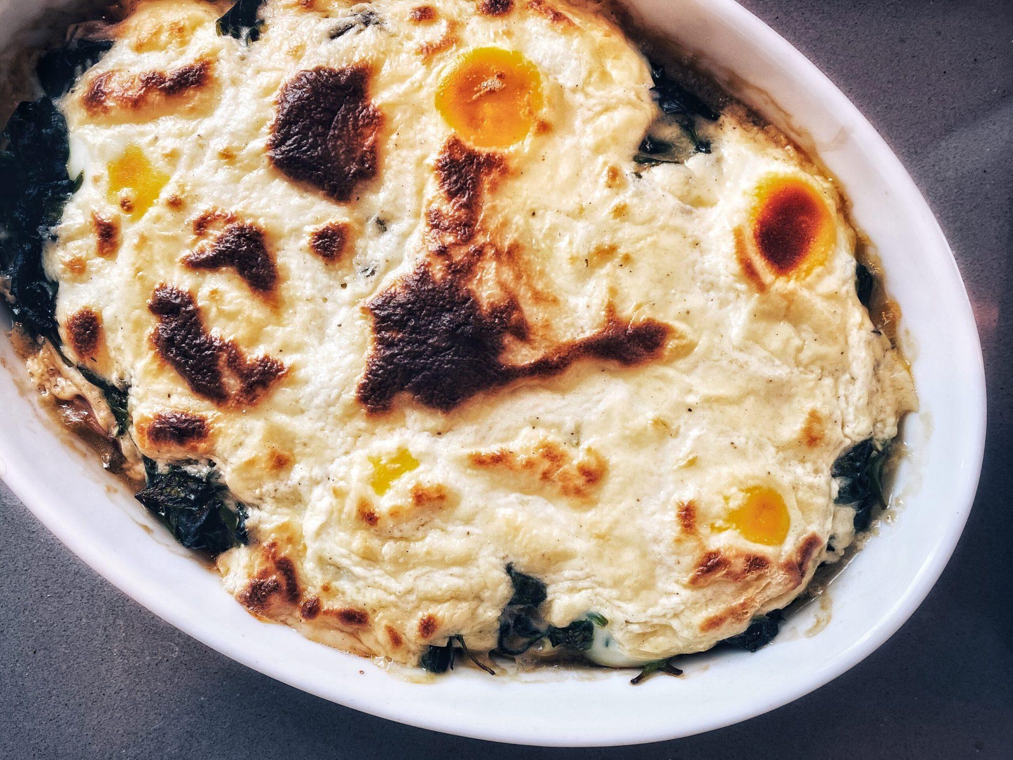 Florentijnse eieren uit de oven