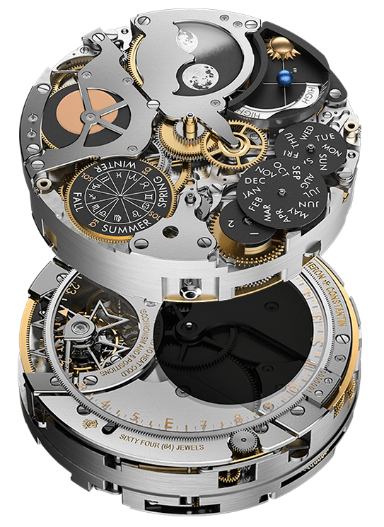 Vacheron Constantin the extremely complex and exclusive new Caliber 3600